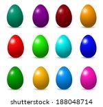 easter eggs | Shutterstock . vector #188048714
