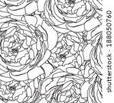 flower pattern seamless  eps 10   Shutterstock .eps vector #188050760
