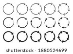 different circular arrows icon... | Shutterstock .eps vector #1880524699