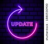 update arrows pink glowing neon ...