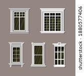 Vector Illustration Of Various...