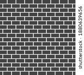 grey brick wall texture vector... | Shutterstock .eps vector #1880639656