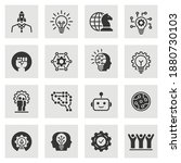 innovation icons  such as... | Shutterstock .eps vector #1880730103