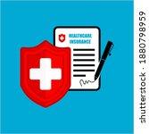 medical health insurance... | Shutterstock .eps vector #1880798959