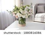 Bouquet Of Beautiful Flowers On ...