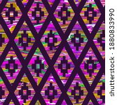 Abstract Ethnic Argyle Shapes...