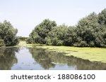 danube delta landscape  ... | Shutterstock . vector #188086100