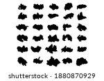 set of black brushstrokes. good ... | Shutterstock .eps vector #1880870929