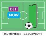 sports betting promotion banner ... | Shutterstock .eps vector #1880898049