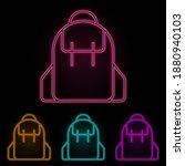 school bag color neon set....