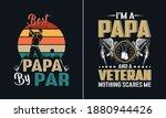 best papa by par t shirt design ... | Shutterstock .eps vector #1880944426