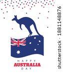 Happy Australia Day Lettering...