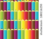 cute colorful seamless pattern... | Shutterstock .eps vector #188116250