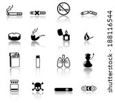 Smoking icons
