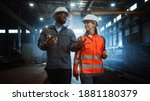 Two Heavy Industry Engineers In ...