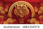 chinese new year 2022 year of... | Shutterstock .eps vector #1881244573