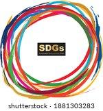for sustainable development... | Shutterstock .eps vector #1881303283