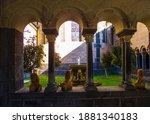 Arch Window Between Buildings...