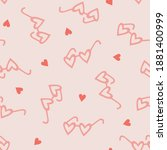 seamless vector pattern with... | Shutterstock .eps vector #1881400999