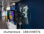 thermal scanner to check the... | Shutterstock . vector #1881448576