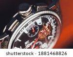 Mechanic Wrist Watch  Closeup...
