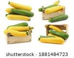 Mixed Yellow And Green Zucchini'...