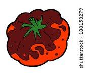 cartoon tomato   Shutterstock . vector #188153279