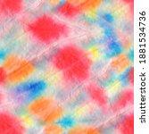 aquarelle texture. floral... | Shutterstock . vector #1881534736
