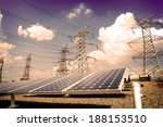 power plant using renewable... | Shutterstock . vector #188153510