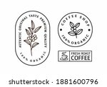 coffee stamp with text and... | Shutterstock .eps vector #1881600796