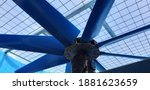 Fan Blade At Cooling Tower