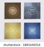 linear plate music album covers ...   Shutterstock .eps vector #1881646516