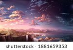 Asthetic Background. An...