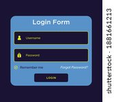 modern simple user login  great ...