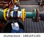 Connection Of Bunkering Hose...