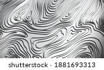 Damascus abstract Flat Vector Background