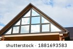 A Close Up Of A Panoramic Attic ...