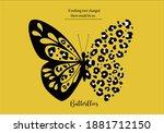 leopard butterfly butterflies... | Shutterstock .eps vector #1881712150
