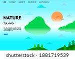 nature landing page web...