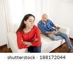 young latin attractive couple... | Shutterstock . vector #188172044