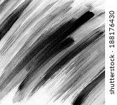 black watercolor background.... | Shutterstock . vector #188176430
