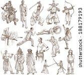 soldiers  warriors and heroes ... | Shutterstock . vector #188179193