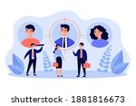 job candidates or employees... | Shutterstock .eps vector #1881816673