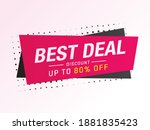 sale and special offer tag ... | Shutterstock .eps vector #1881835423