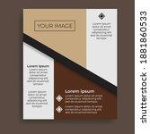 modern poster design. great... | Shutterstock .eps vector #1881860533