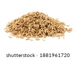 Pile Dried Of Caraway Seeds...
