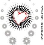 abstract love   Shutterstock .eps vector #18819622