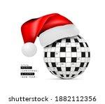 sphere from a crossword grid in ... | Shutterstock . vector #1882112356