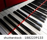 The Piano Keys. Black And White ...