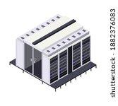 data center isometric...   Shutterstock .eps vector #1882376083